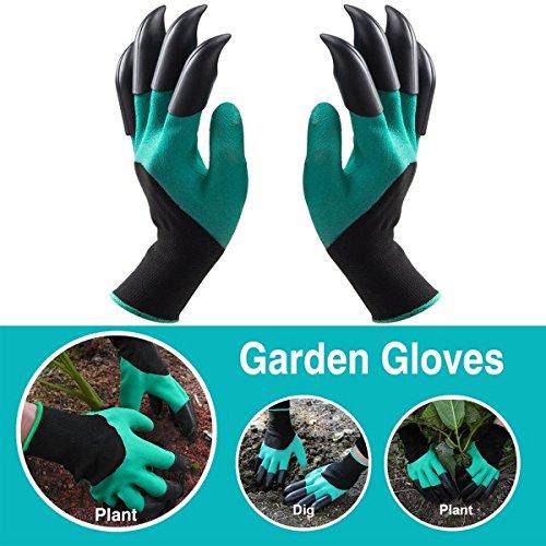 guanti giardinaggio con unghie DOPPIO Claw Giardino Guanti