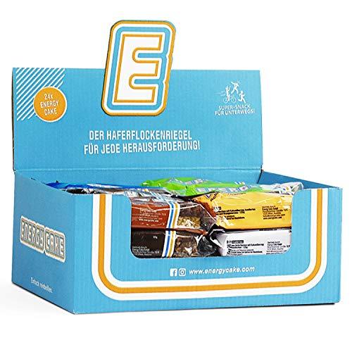 Energy Cake Mix Box - Original Fitness Riegel mit verschiedenen Sorten zum Probieren - Neue Mix-Box jetzt im Store verfügbar!