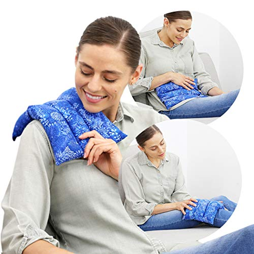 Nature Creation All Purpose Heating Pad Microwavable - Deep Moist Heat Aromatherapy...
