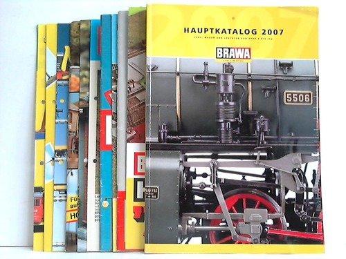 4 Kataloge und 7 Neuheiten-Prospekte aus 1975 bis 2007
