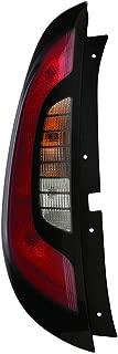 KarParts360: Fits 2014-2019 KIA SOUL Tail Light Assembly Driver Side w/Bulbs Replaces KI2800141 CAPA Certified