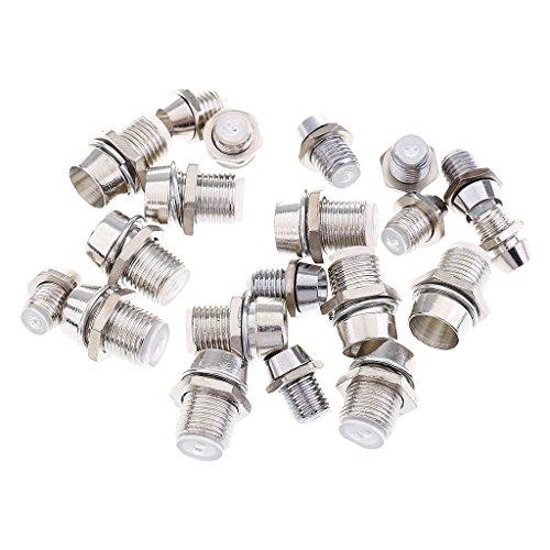 Sharplace 20 Stück 5mm 3mm Metall LED Lampenhalter Für Leuchtdiodenbeleuchtung