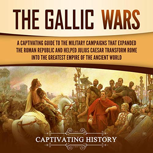 The Gallic Wars audiobook cover art