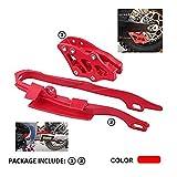 Protector de guía de cadena de plástico para motocicleta Xin + protector de guía de cadena para Hon.da CR125R CR250R CRF250R CRF450R CRF250X CRF450X