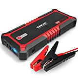 GOOLOO Upgraded 2000A Peak SuperSafe Car Jump Starter with USB Quick Charge 3.0
