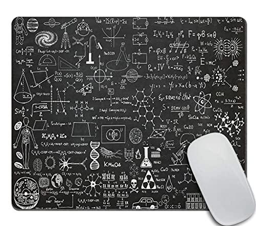 Alfombrilla de ratón de ciencia fresca - regalo de profesor de química de biología alfombrilla de ratón para ordenador pc alfombrilla de ratón de goma antideslizante rectangular personalizada alfombri