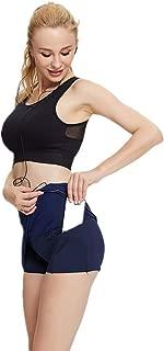 sdtdia Ladies/Womens Pocket Skort Athletic Mini Running Skirts Casual Skater Skirt Tennis Skirt
