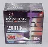 "Imation 3.5"" DS-HD, 10 Pcs 1.44MB - Disquetes (10 Pcs, 1,44 MB)"