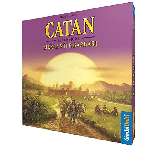 Giochi Uniti - Catan Mercanti e Barbari Juego de Mesa, Multicolor, GU605