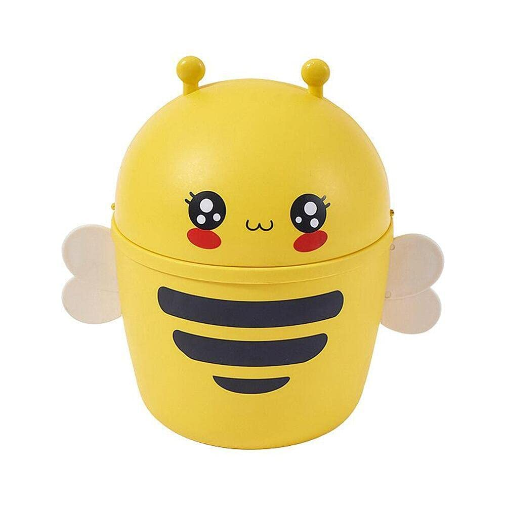 XCYSHPMY Countertop Trash Can Cute Tableto Desktop New sales Bee Max 82% OFF