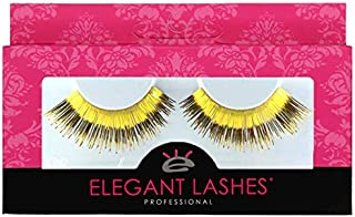 Elegant Lashes C748 Gold Tinsel Foil Metallic Lashes for Costume, Party, Halloween, Rave, Dance …