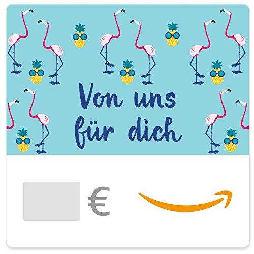 Digitaler Amazon.de Gutschein (Flamingos & Ananas mit Sonnenbrille)