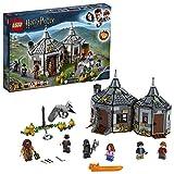 LEGO-Harry Potter La cabane de Hagrid  le sauvetage de Buck Jeu d'Assemblage 8 Ans et Plus, Jouet pour Fille et Garçon, 496...