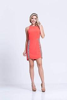 Vestido Clara Arruda Basico Bicolor 50291