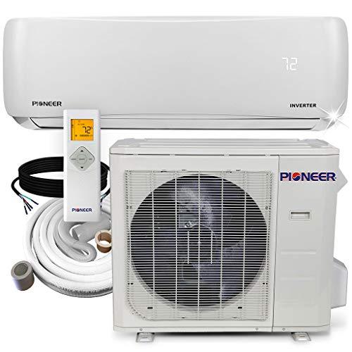 Pioneer Air Conditioner WYS024G-19 Wall Mount Ductless Inverter+ Mini Split Heat Pump, 24000 BTU-208/230V