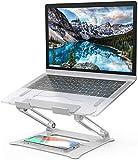 Laptop Ständer Verstellbarer PC Halter Ergonomischer Notebook-Ständer Halterung, Riser für Macbook, Dell, HP, Samsung, Lenovo 10-15.6 Laptops