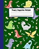 Dinosaur Era - Primary Story Journal: Story Picture Space With Dotted Midline | Grades K-2 School Exercise Book | Dinosaur Primary Composition Notebook Jurassic Period | Draw and Write for Kids