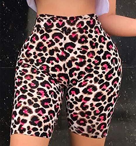 bayrick Internet-Promi gleichen Stil,Eye Leopard Print Yoga Hosen Hohe Taille Hüften Fünf Hosen-1_S.