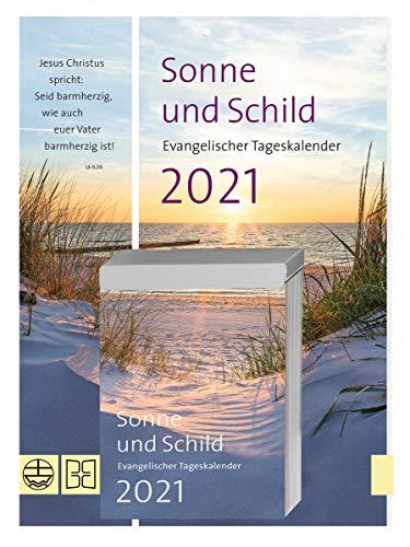 Sonne und Schild 2021. Abreißkalender: Der evangelische Tageskalender 2021 als Abreißkalender