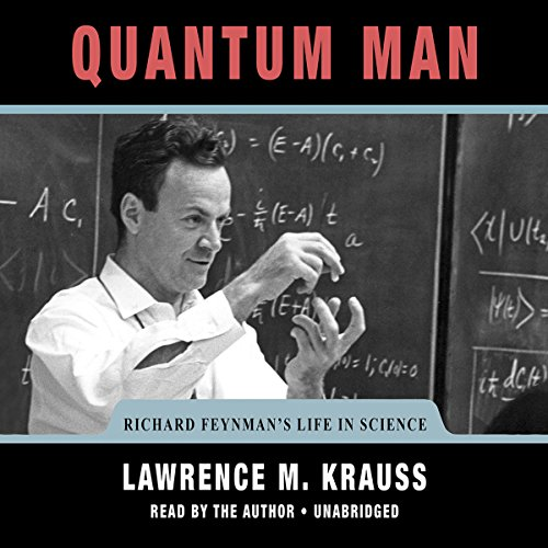 Quantum Man audiobook cover art