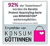 Remington Lockenstab Keratin Protect CI83V6, kegelförmig, hochwertige Grip-Tech-Keramikbeschichtung, grau/rose gold - 4