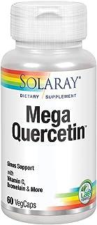 Solaray Mega Quercetin | Healthy Cells, Heart, Circulatory & Respiratory System Support | Bioflavonoids & AMPK Activator |...
