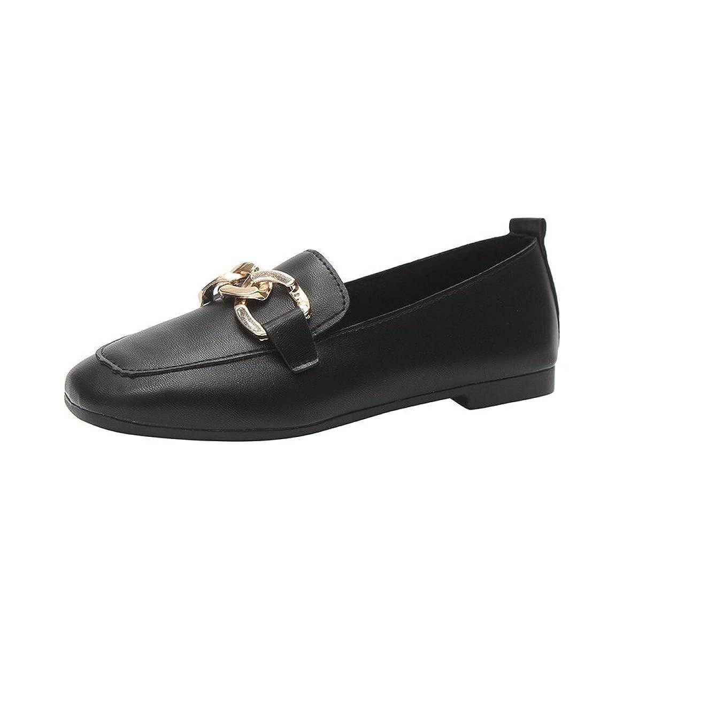 ボール発明壮大フラットシューズ レディース Hodarey 女性 レトロフラットヒールの靴 フラットシューズ ローファー浅い口 厚底 レジャー シューズ 美脚 ファッション ワイルド女性の靴 人気 安い レディース シューズ通勤 普段着 レザーシューズ