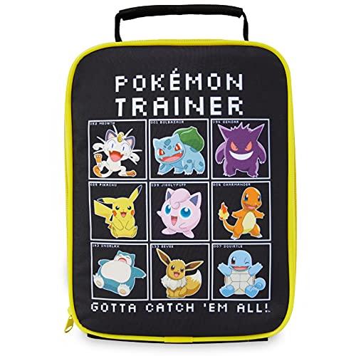 Pokemon Sac Isotherme Repas Enfant - Lunch Box Enfant - Dejeuner Gouter Pique Nique