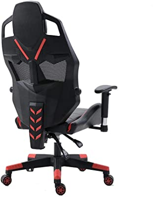 Amazon.com: E-Sports Chair Game Chair Can Lie Flat Net Coffee ...