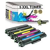 Tonerflip - Tóner compatible con Brother MFC-L3750CDW MFC-L3770CDW HL-L3210CW HL-L3230CDW MFC-L3710CW DCP-L3550CDW MFC-L3730CDN HL-L3270CDW sustituye TN247 TN-247 TN243 BK C M Y