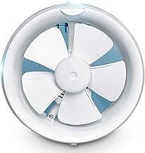ZSQAW Exhaust Fan Kitchen Toilet Ventilator Louver Window Exhaust Fan Air Ventilation Draft Blower Metal Pipe (Size : B)
