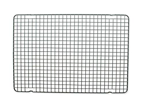 Nordic Ware Oven Safe Nonstick Baking & Cooling Grid (1/2 Sheet), One Size, Non-Stick