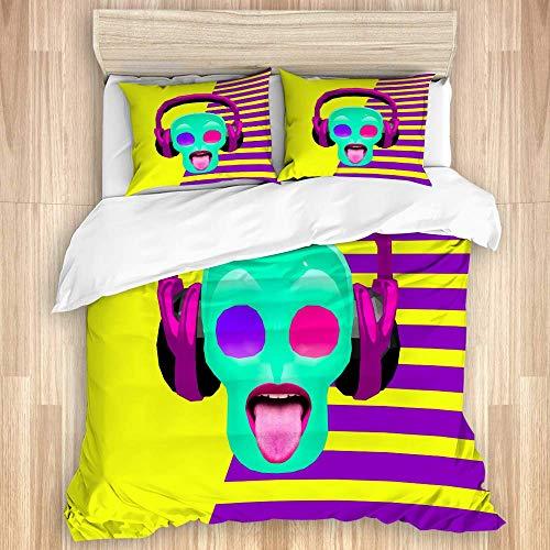GeGe 3-teiliges Bettwäsche-Set, Artikelnummer...