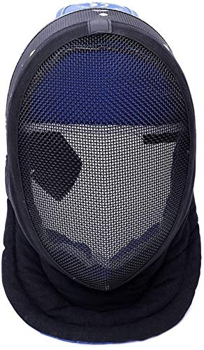 THIBETA Fencing Mask - Fencing Gear - Suitable for Foil/Sabre/Epee Competitions and Training - Fencing Equipment/Fencing Accessories/Fencing Sport/Fencing Protective Gear (L, Detachable)