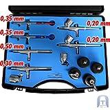 6 Airbrush Pistolen Set - 3