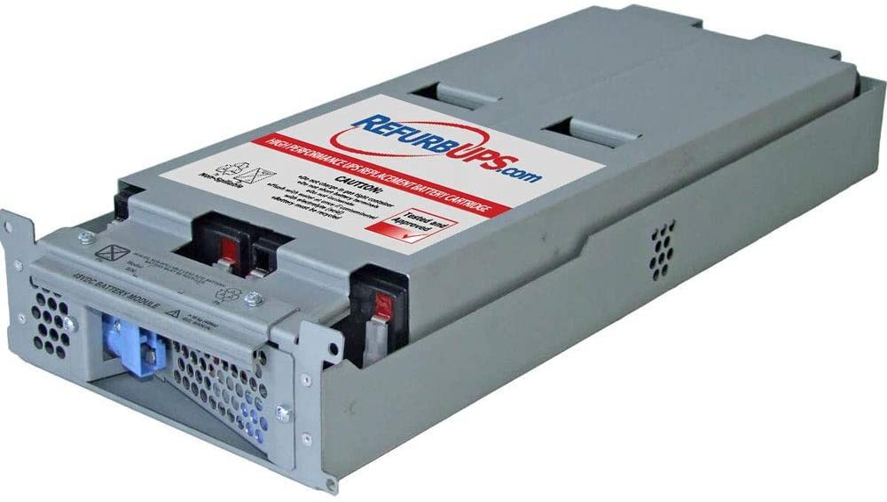 APC Smart-UPS 2200 (SUA2200RM2X106) RBC43 Compatible Replacement Battery Cartridge Hot-Swap PowerSwap Solution