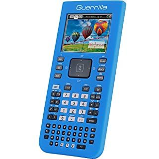 Guerrilla Silicone Case for Texas Instruments TI Nspire CX/CX CAS Graphing Calculator, Blue (B00AMNSHB4) | Amazon price tracker / tracking, Amazon price history charts, Amazon price watches, Amazon price drop alerts