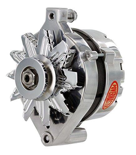 Powermaster Performance 27078 Polish Alternator (1G 75A 1V Pulley Ext Regulated)