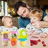 Zoom IMG-1 contenitore congelatore per alimenti bambini