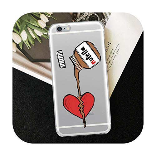 Who-Care Funny Food Dessert Chocolate Beer Phone Case For Iphone 11 Pro Xr 6 6S 7 8 Plus 4S 5S Se Xs Max Cookies Fries Tpu Silicone Case-Tpu D797-For Iphone 6 6S