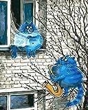 Pintura Por Numeros Adultos, 40X50Cm-Sin Marco, For Kids And Adults Pintura Acrílica Diy Kit, Adecuados Regalos - Noviazgo