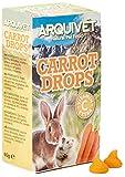 Arquivet Drops de Zanahoria - Snacks para roedores - 65 g