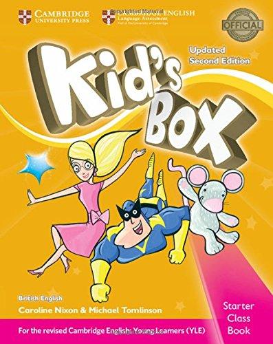 Kid's box. Level Starter. Class book. British English. Per la Scuola elementare. Con CD-ROM