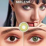 MISLENS Pack Lentillas de Hidrogel blandas 1 par Lentes de...