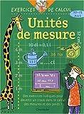 Unites de mesure - 10-12 ans de Chris De Smedt (19 septembre 2003) Broché - 19/09/2003