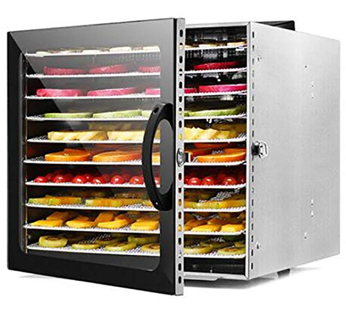 Best Prices! Food Dehydrator,household food air dryer,small pet snack vegetable and fruit dryer,visu...