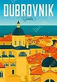 shuimanjinshan Kroatien Zagreb Dubrovnik Reise Vintage