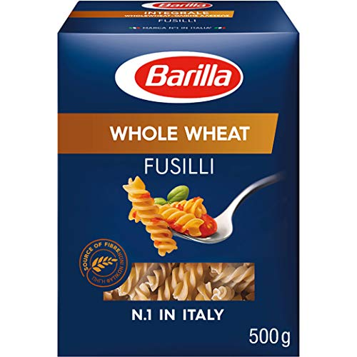 Barilla Vollkorn Pasta Fusilli Integrale - 1er Pack (1x500g)