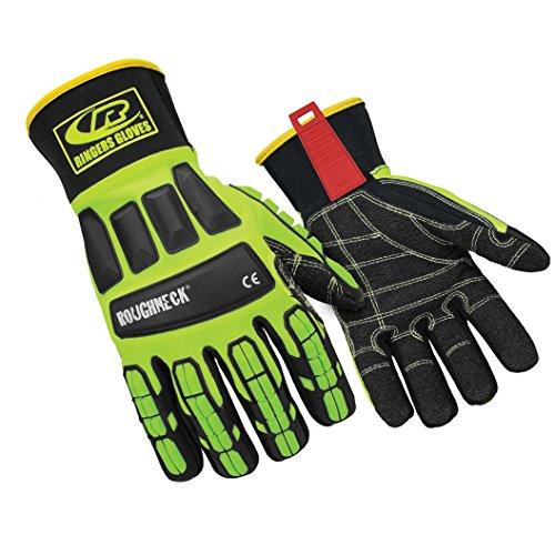 Glove, Impact Resistant, Kevloc, M, HiVis, PR