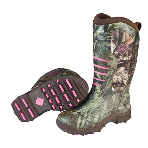 Muck Boot womens Pursuit Stealth Hunting Shoes, Realtree/Pink, 6 US
